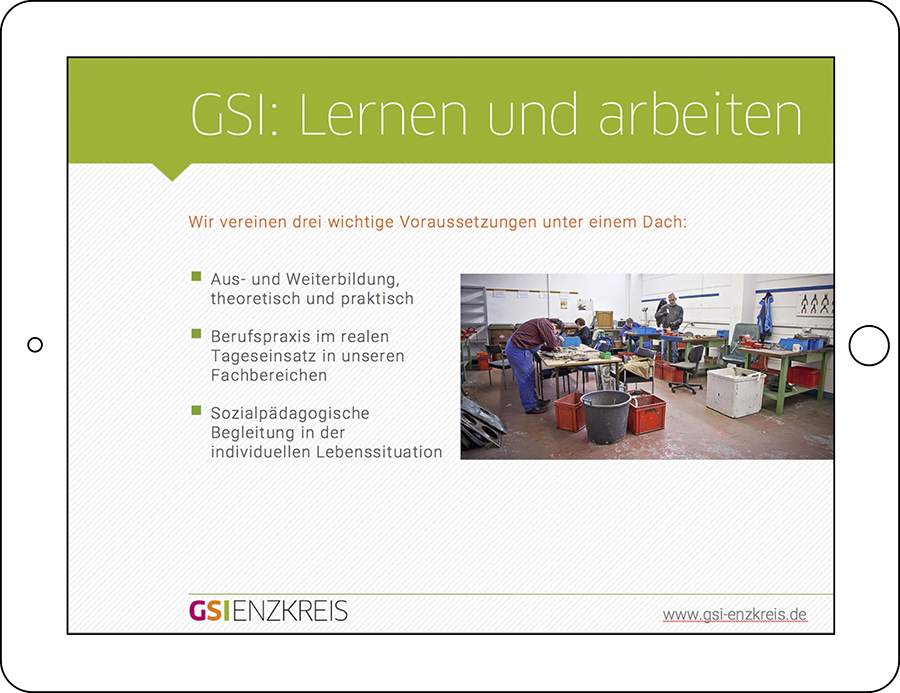 GSI Powerpoint Präsentation